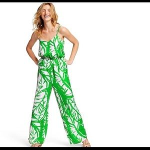 Lilly Pulitzer for Target green jumpsuit